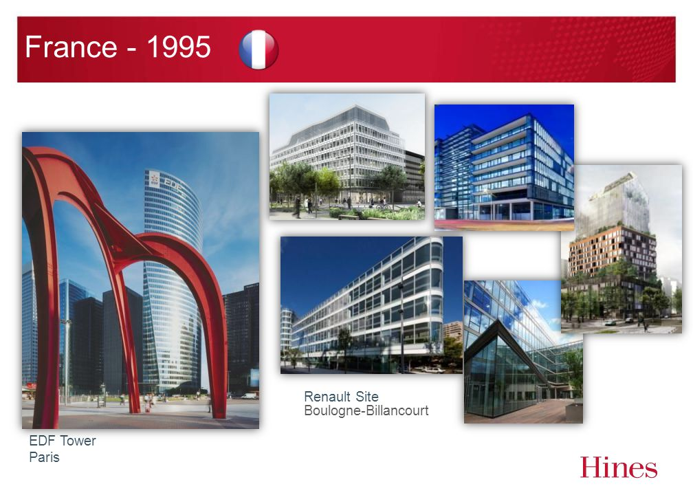 France - 1995 EDF Tower Paris Renault Site Boulogne-Billancourt