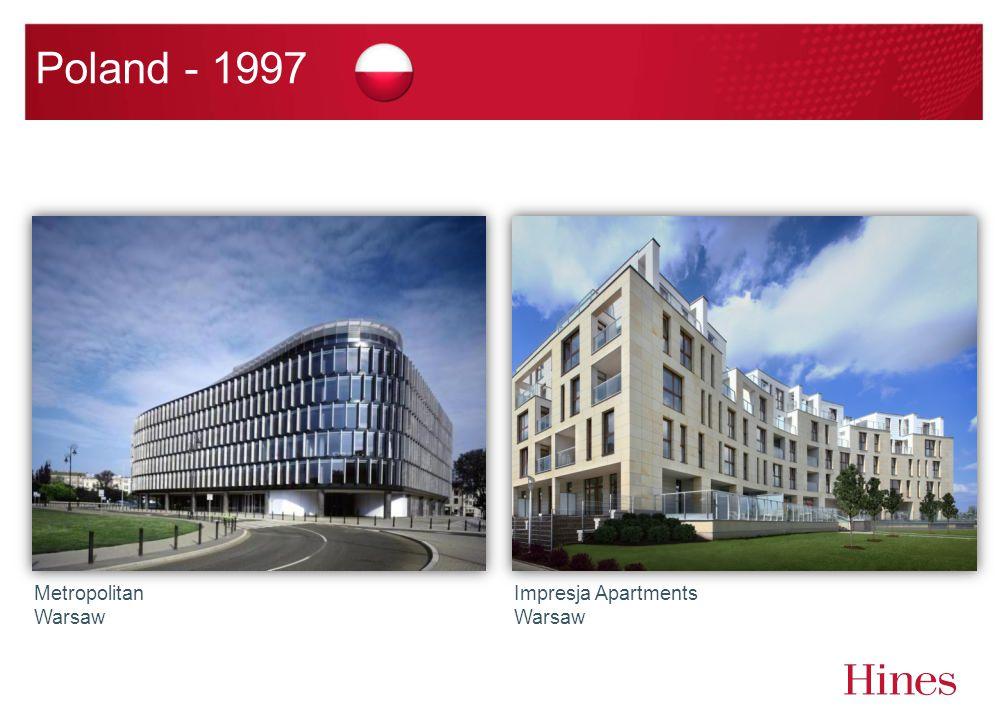 Poland - 1997 Metropolitan Warsaw Impresja Apartments Warsaw