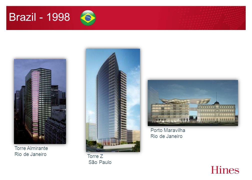 Brazil - 1998 Porto Maravilha Rio de Janeiro Torre Z São Paulo Torre Almirante Rio de Janeiro