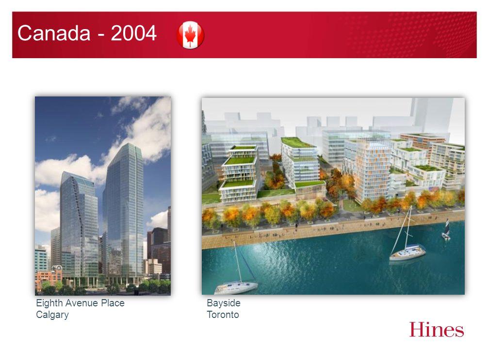 Canada - 2004 Eighth Avenue Place Calgary Bayside Toronto