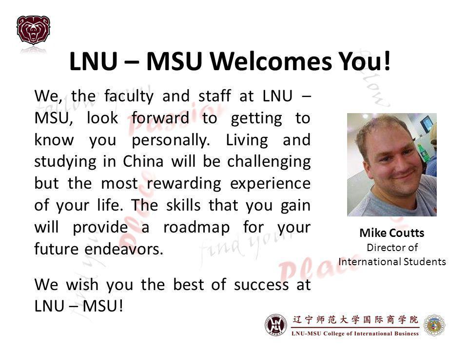 LNU – MSU Welcomes You.