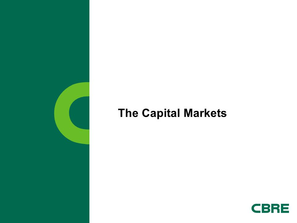 The Capital Markets