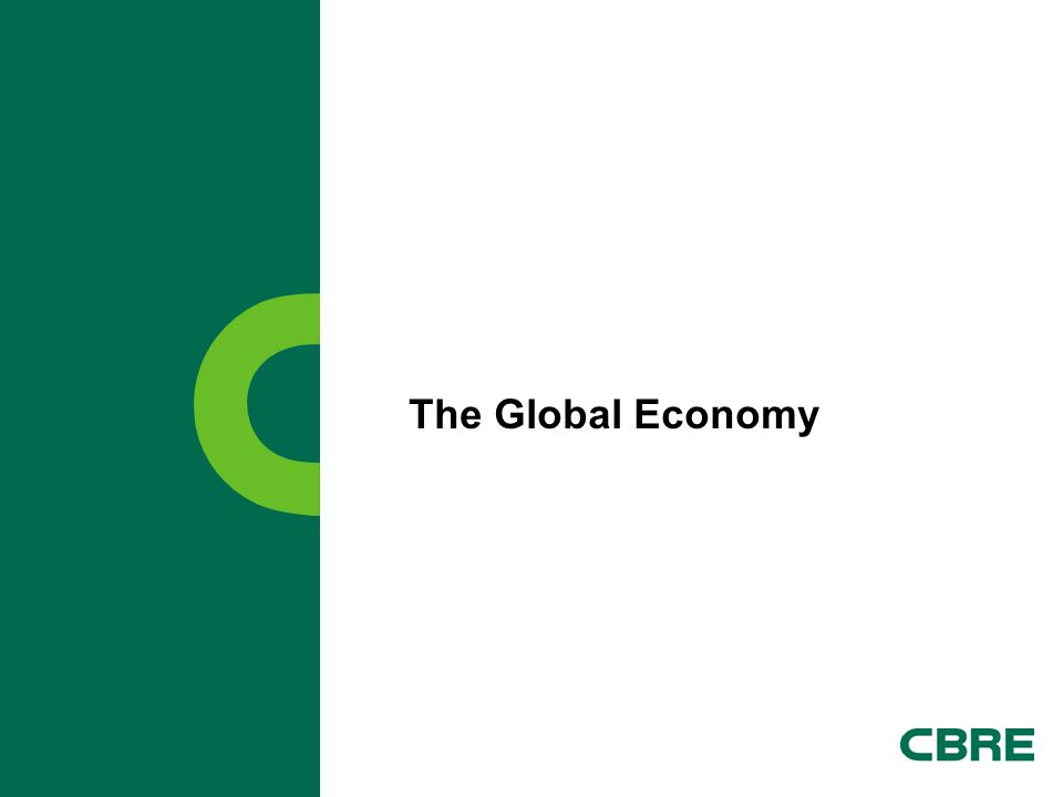 CBRE   Page 23 Implication for Investors and Occupiers Highest probability is for the North American economy to continue modest growth.