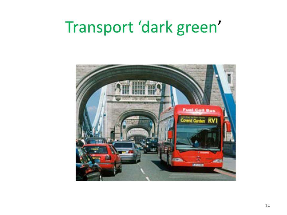 11 Transport dark green