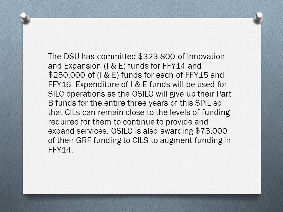 DSU receives SSR federal funds.