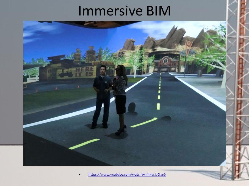 Immersive BIM https://www.youtube.com/watch v=4lKysU6Ian0