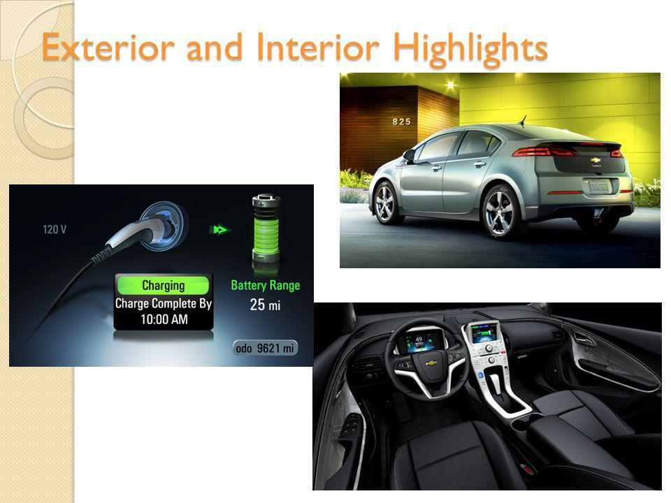 Exterior and Interior Highlights