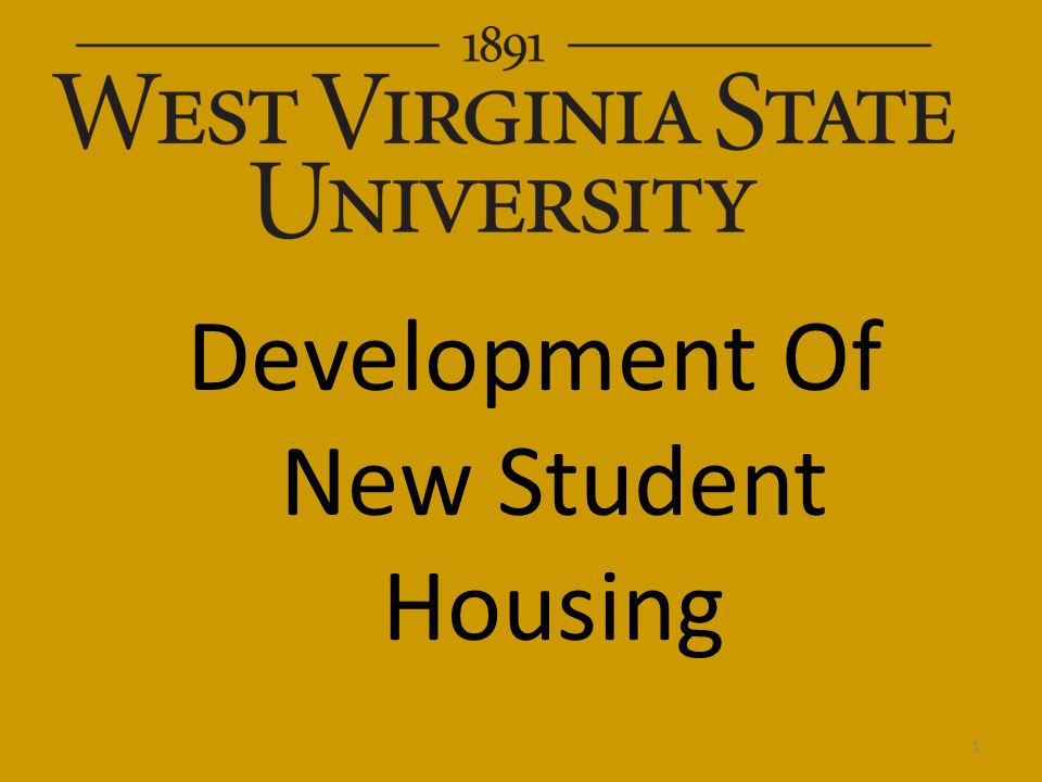 Development Of New Student Housing 1