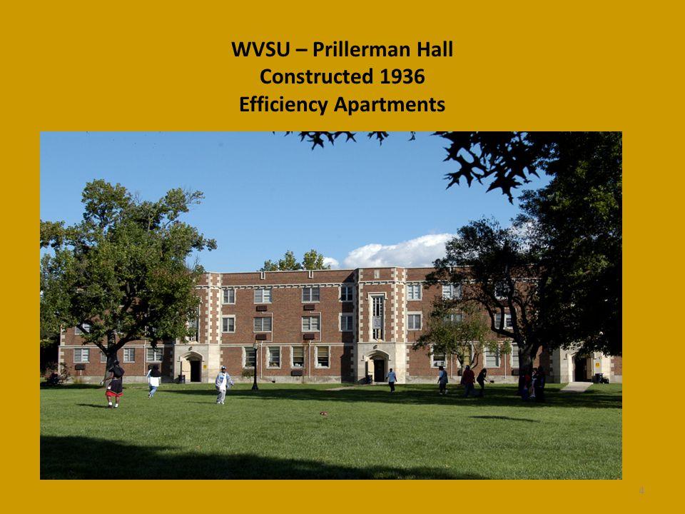 WVSU – Prillerman Hall Constructed 1936 Efficiency Apartments 4