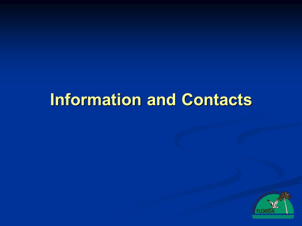 Information and Contacts