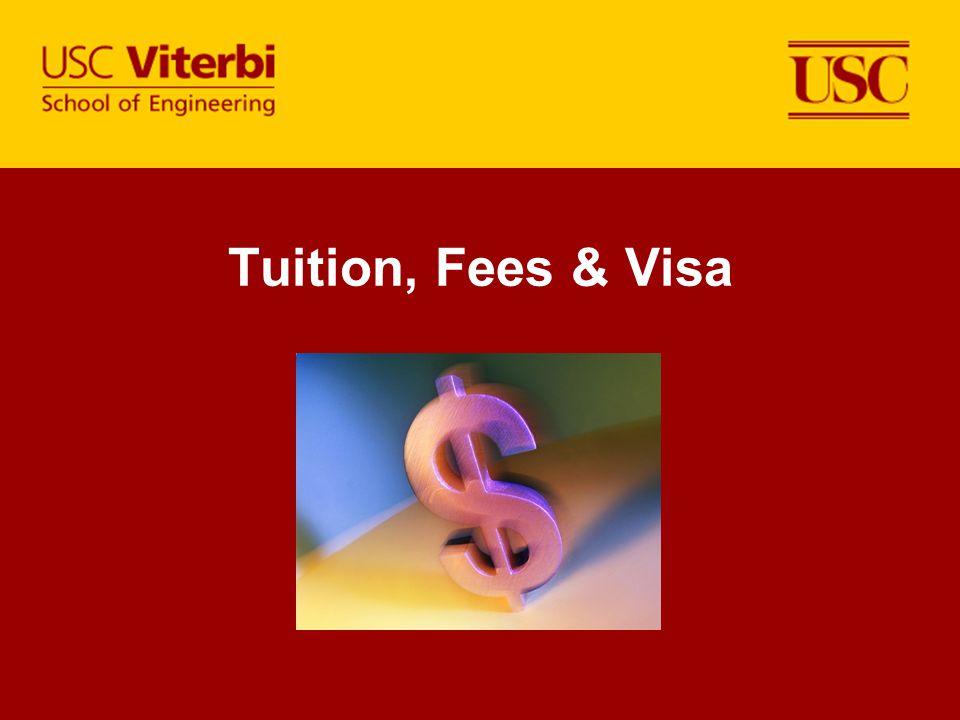 Tuition, Fees & Visa