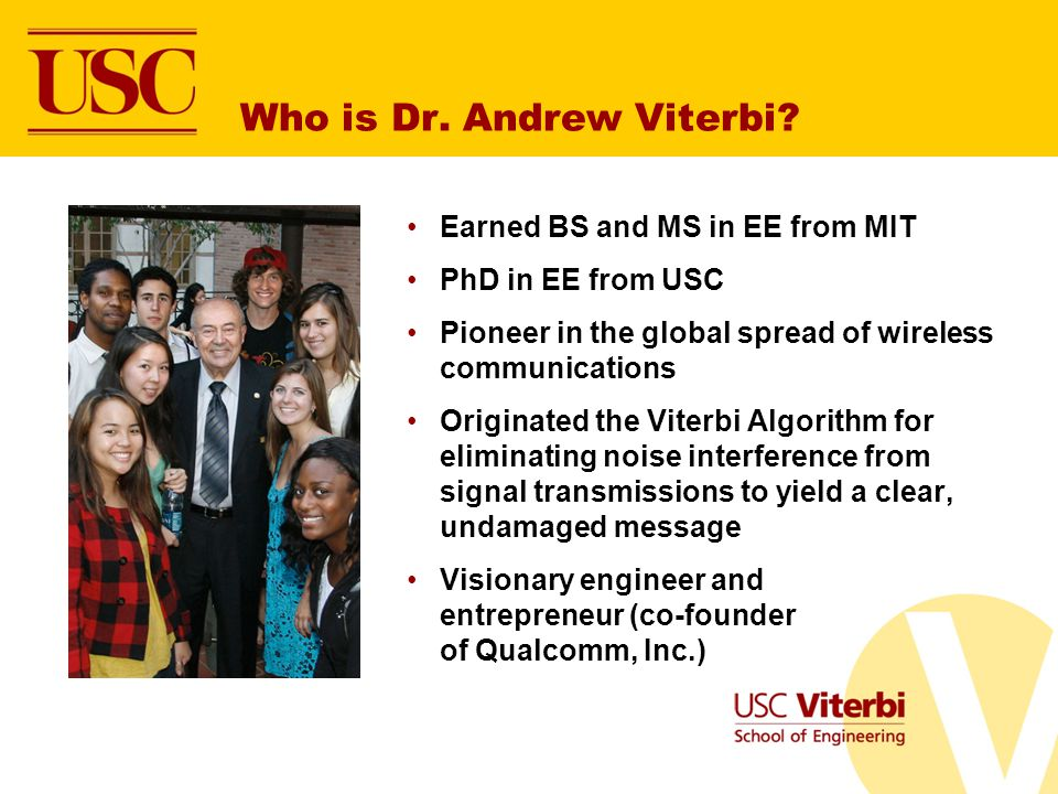 Who is Dr.Andrew Viterbi.
