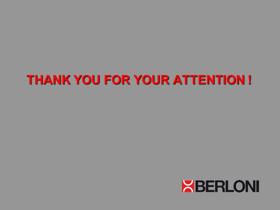 THANK YOU FOR YOUR ATTENTION ! THANK YOU FOR YOUR ATTENTION !