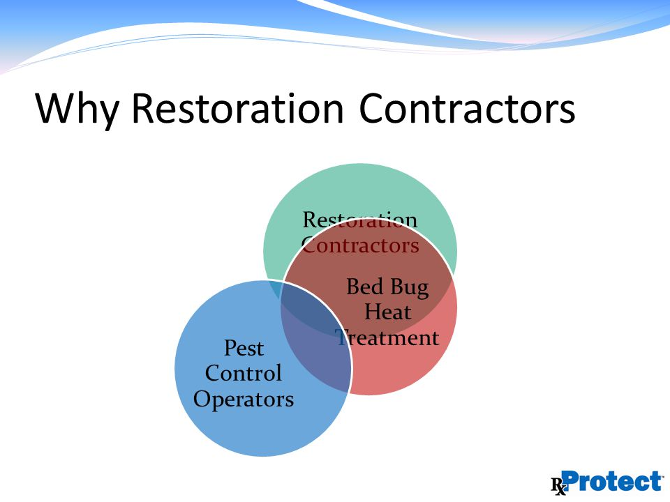 Why Restoration Contractors Restoration Contractors Bed Bug Heat Treatment Pest Control Operators