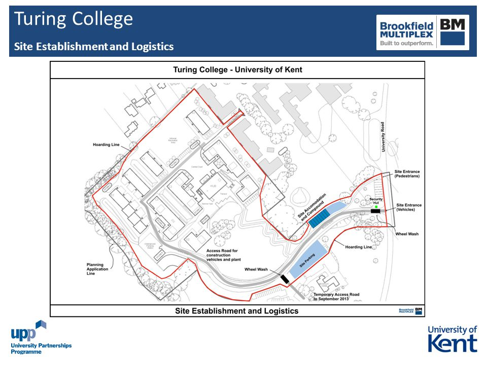 Turing College Site Establishment and Logistics