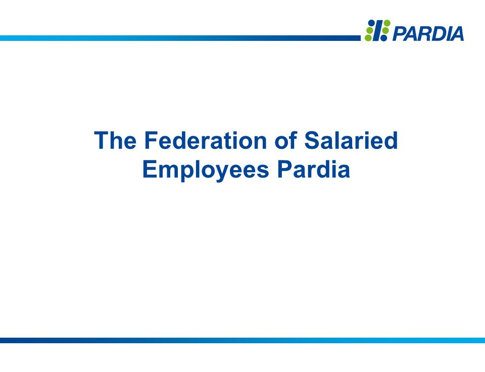 The Federation of Salaried Employees Pardia
