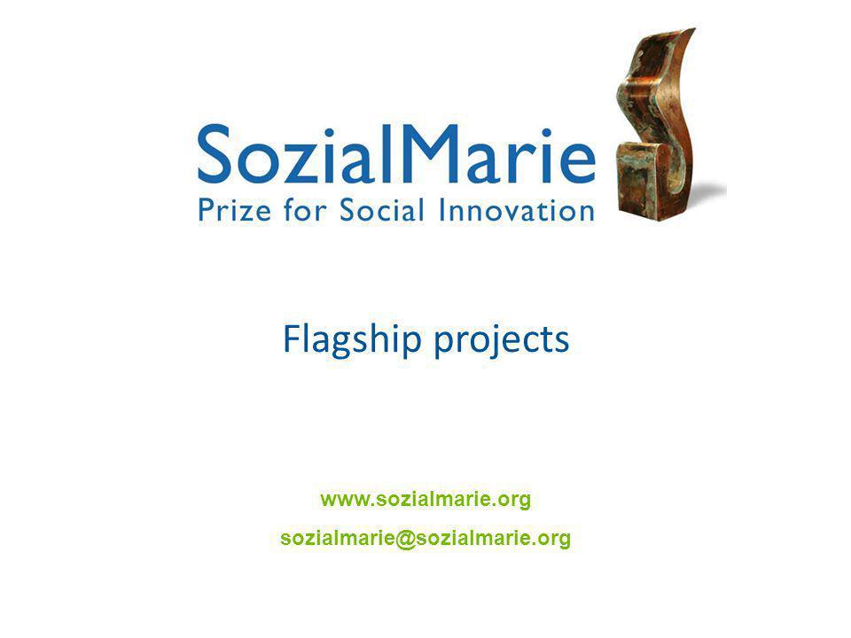 Flagship projects www.sozialmarie.org sozialmarie@sozialmarie.org
