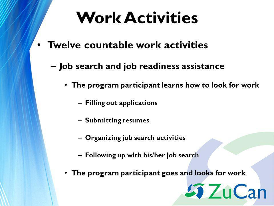 Work Activities December Objectives We will – Discuss the ...