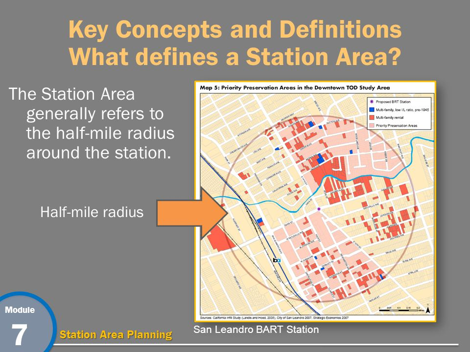 Module 7 Station Area Planning Key Concepts and Definitions What is a Place Type.