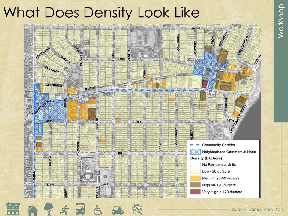 Workshop What Does Density Look Like