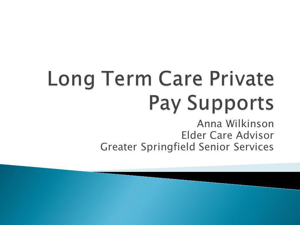 Anna Wilkinson Elder Care Advisor Greater Springfield Senior Services