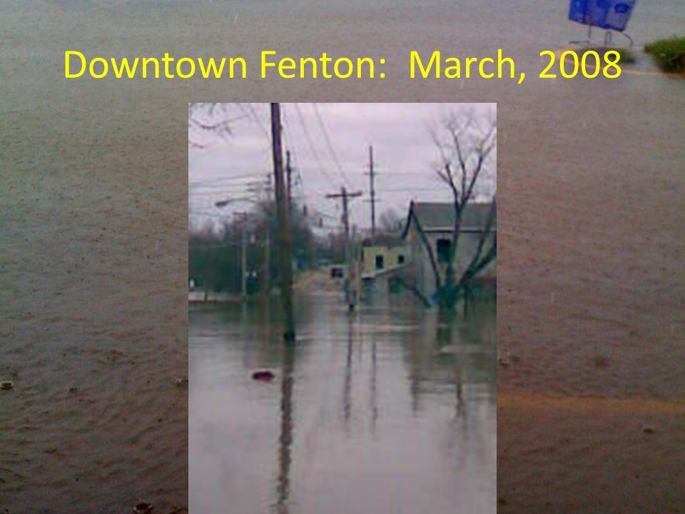 Downtown Fenton: March, 2008