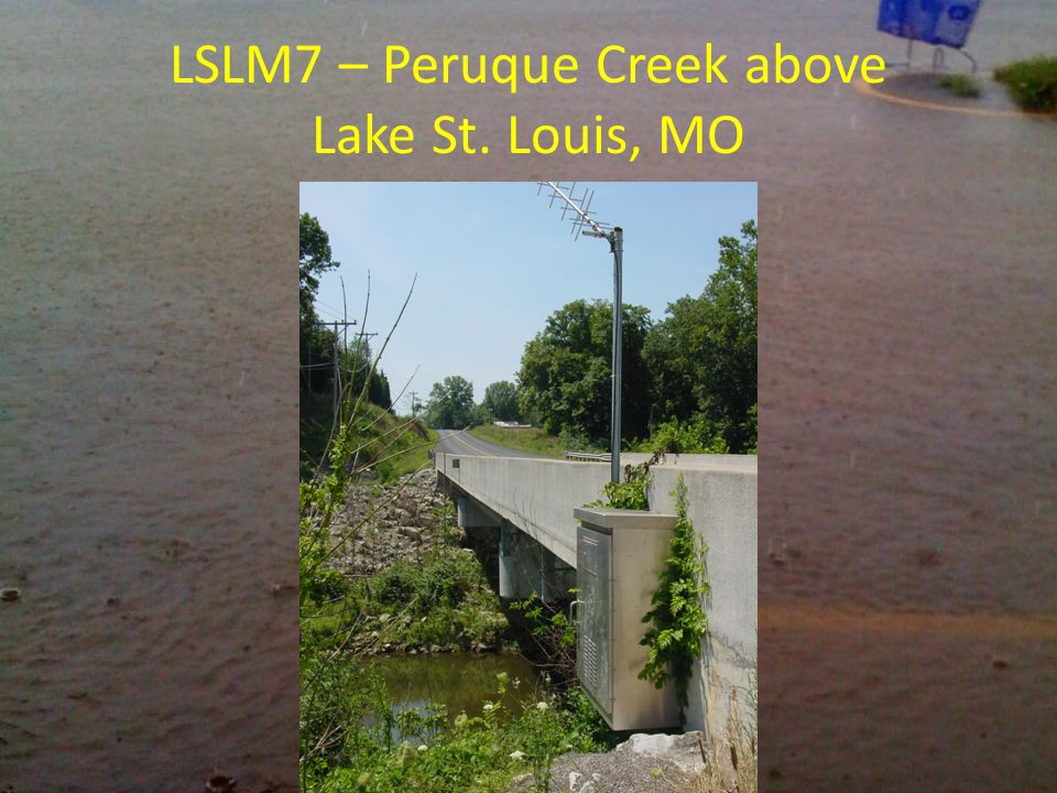 LSLM7 – Peruque Creek above Lake St. Louis, MO