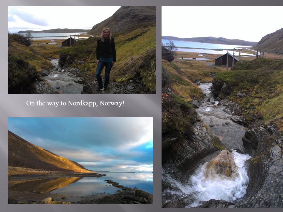 On the way to Nordkapp, Norway!