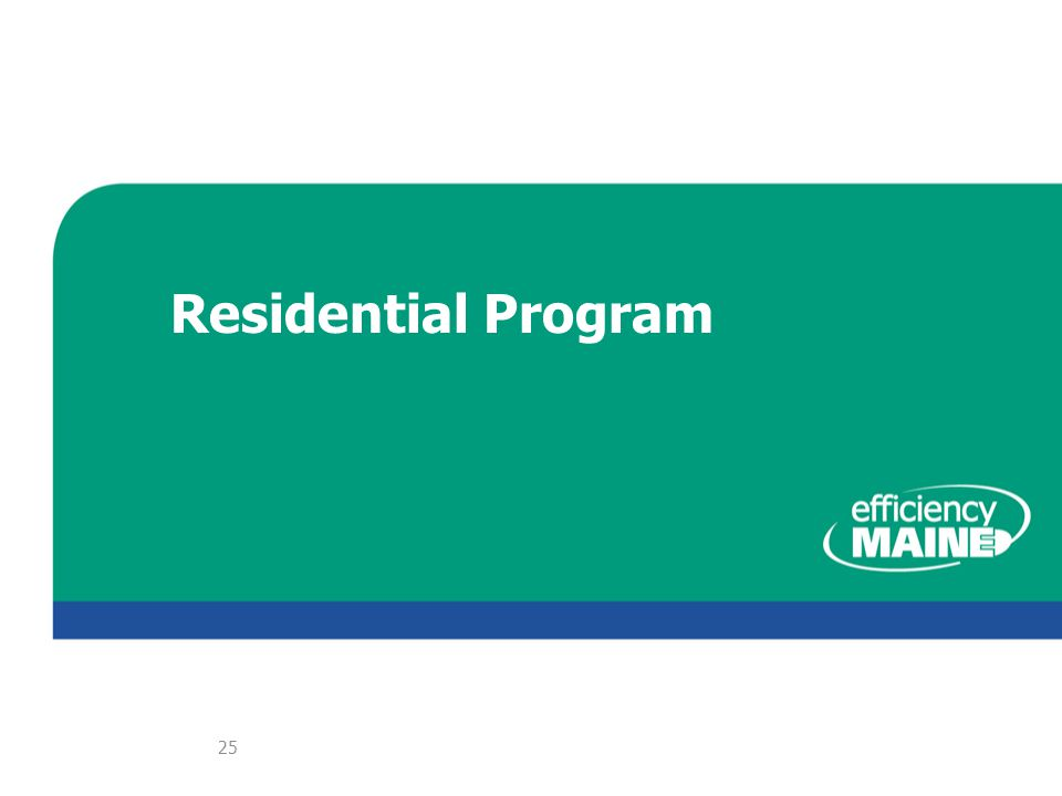 Residential Program 25