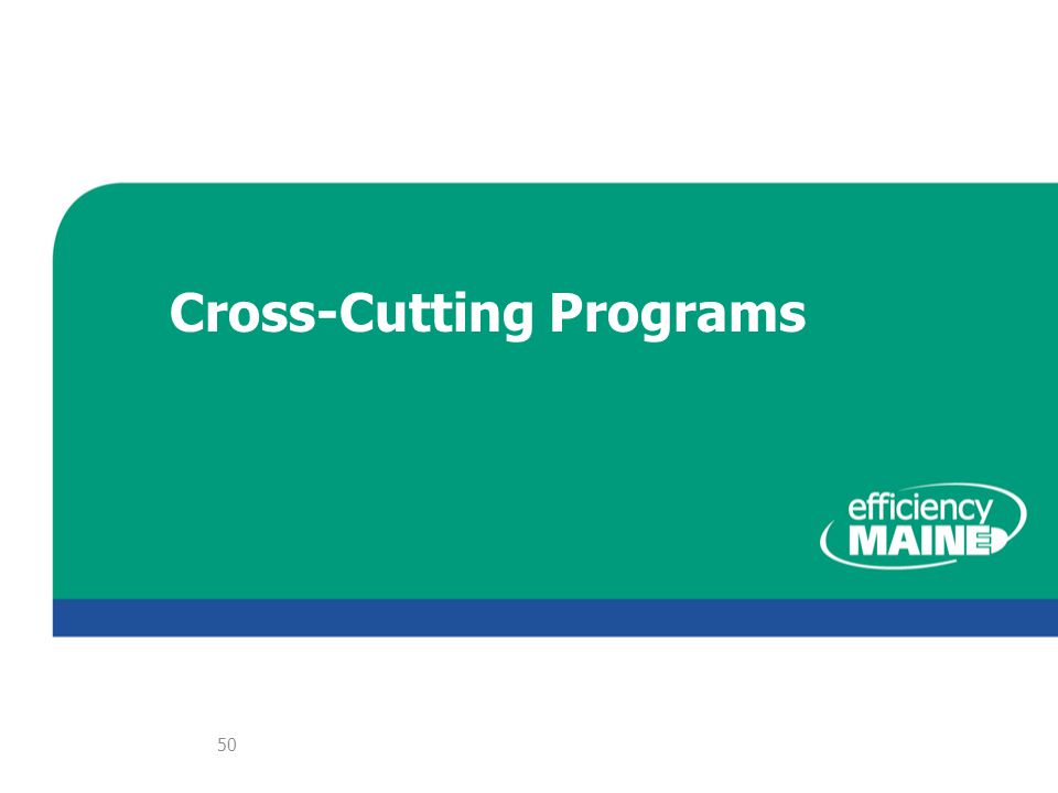 Cross-Cutting Programs 50