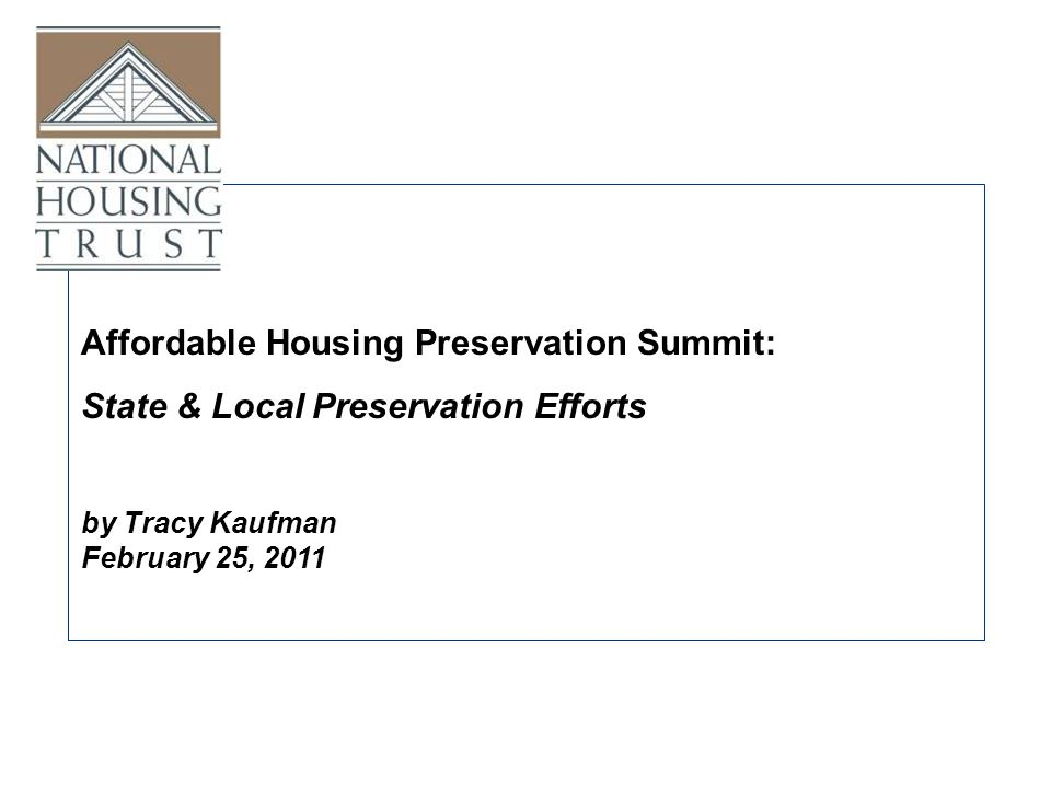 National Housing Trust, Washington, DC 29 states award points to applicants whose property is located near public transit At least 5 states direct the 30% basis boost toward projects located near public transit 32 states incentivize projects located near public transit: Commitment to Sustainability: Proximity to Transit & QAPs