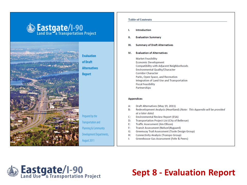 Sept 8 - Evaluation Report