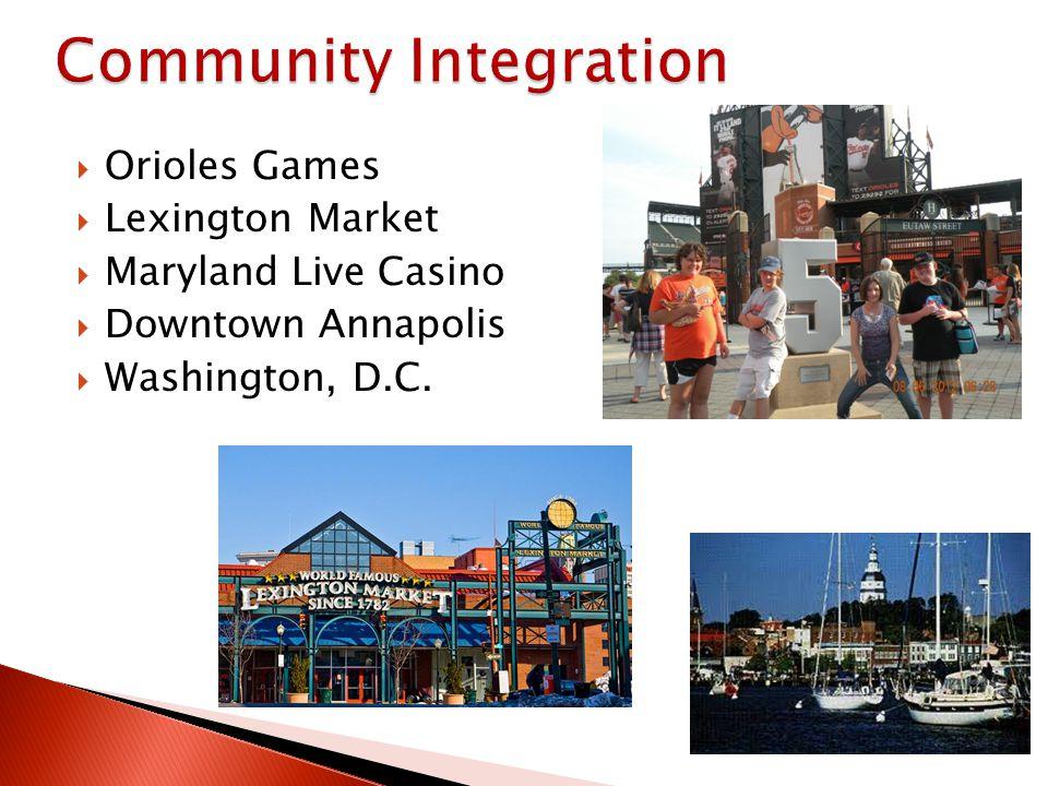 Orioles Games Lexington Market Maryland Live Casino Downtown Annapolis Washington, D.C.