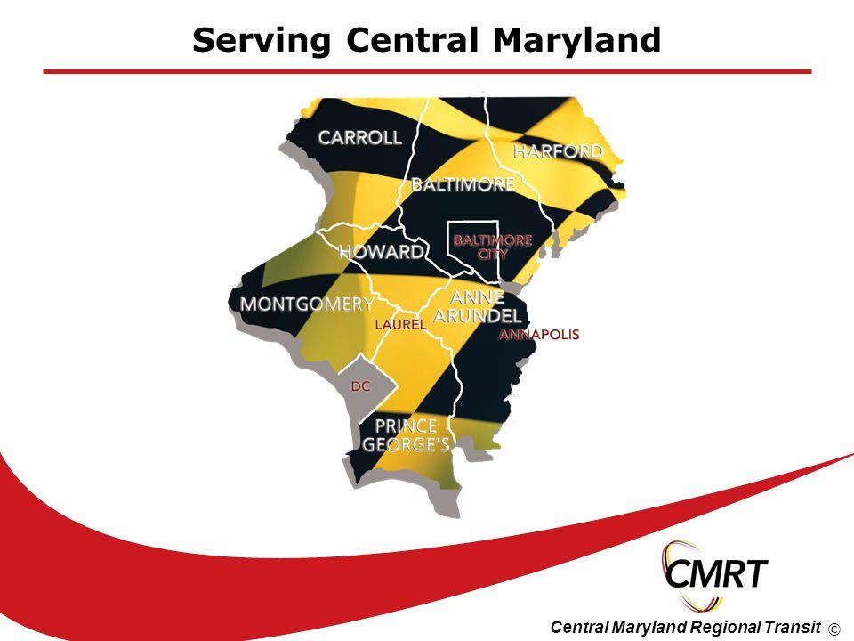 Central Maryland Regional Transit © Serving Central Maryland