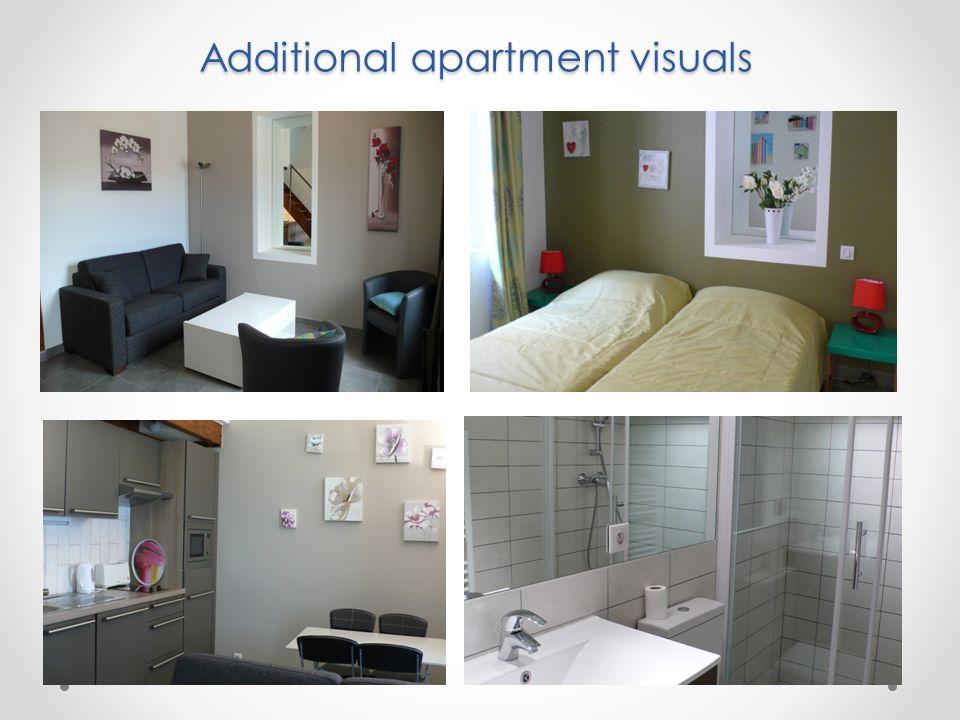 Additional apartment visuals