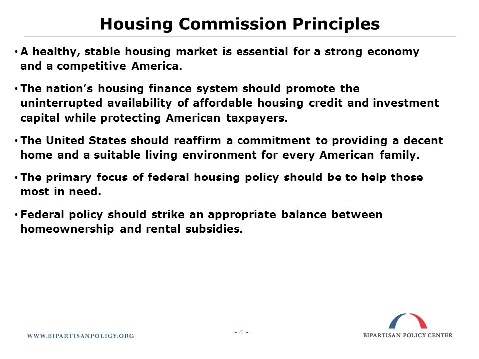 25 What Needs To Be Done Now Improve access to credit for well qualified self-employed individuals Further clarification for lenders on put-back risks for reps and warrants Deal with appraisal concerns (i.e., Fannie Mae, Freddie Mac, and FHA could refuse to accept distressed sales as valid comps) Clarify uncertainty related to pending regulation and implementation of new rules The Commission suggests the President should direct the Treasury Department to coordinate with the various regulatory agencies to inventory, assess, and coordinate the various regulatory initiatives related to housing finance and to assess their current and likely impact on the affordability and accessibility of mortgage credit.