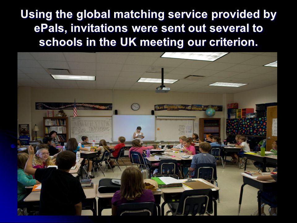 A teacher at Cockerham Parochial School in Lancashire, England, responded.