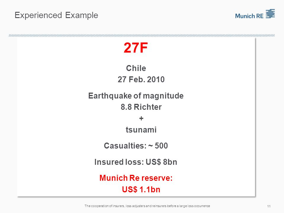 Experienced Example 27F Chile 27 Feb.