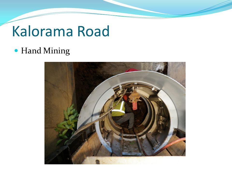 Kalorama Road Hand Mining