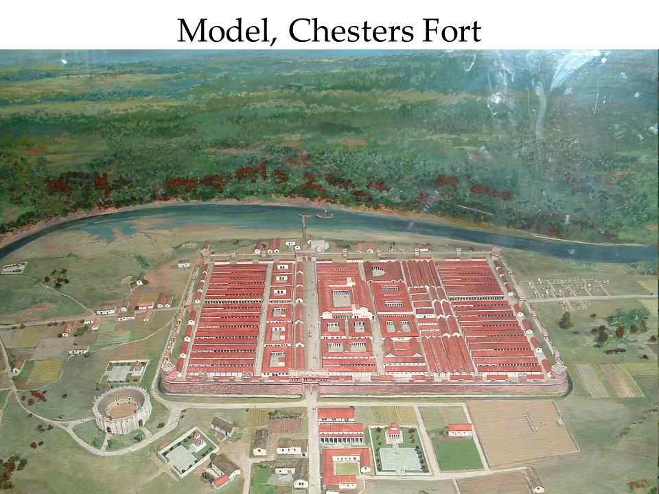 Model, Chesters Fort