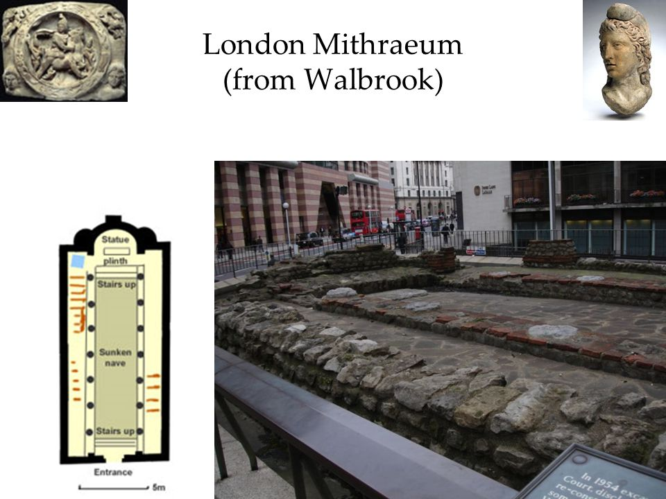 London Mithraeum (from Walbrook)
