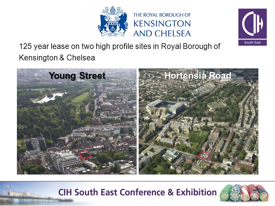13 Young Street Hortensia Road 125 year lease on two high profile sites in Royal Borough of Kensington & Chelsea