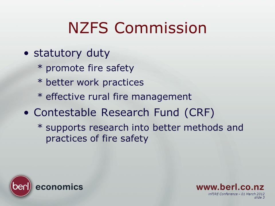 inFIRE Conference – 01 March 2012 slide 14 Outcome e.g.