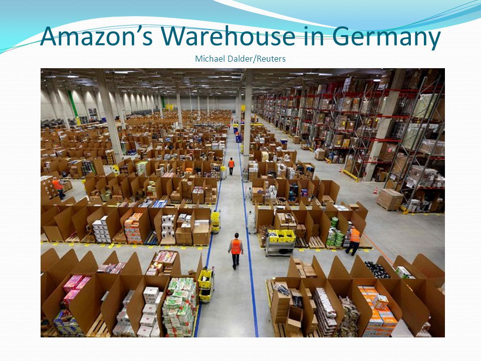 Amazons Warehouse in Germany Michael Dalder/Reuters