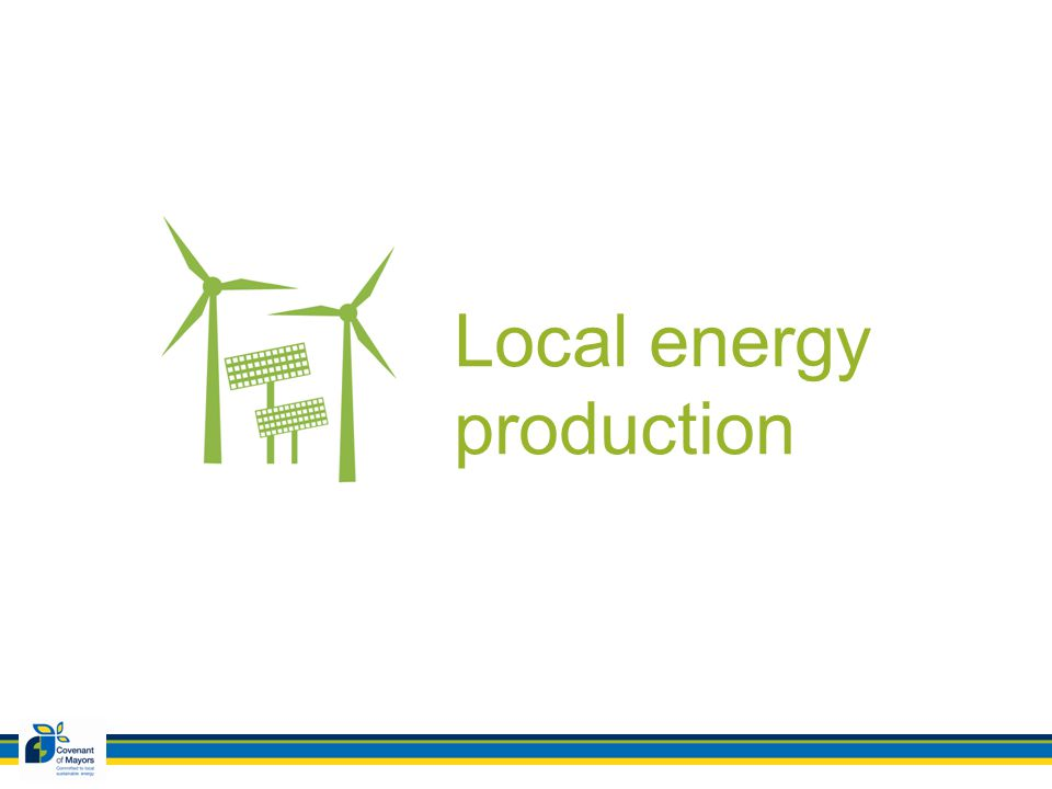 Local energy production