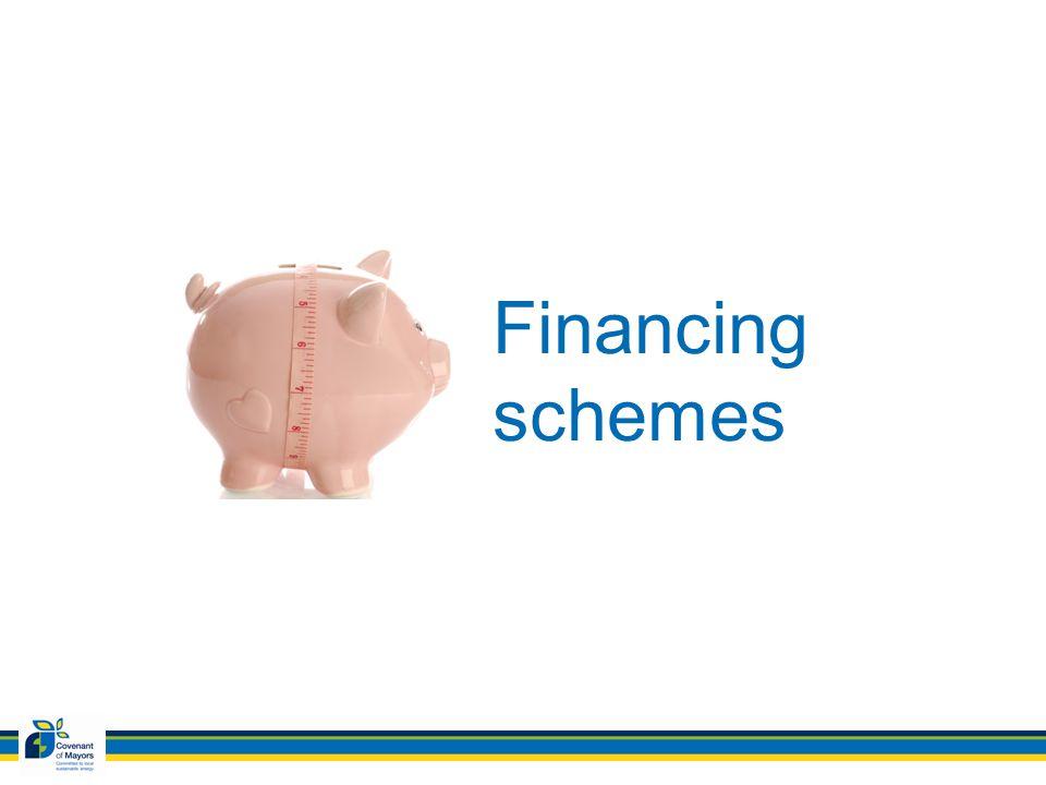 Financing schemes