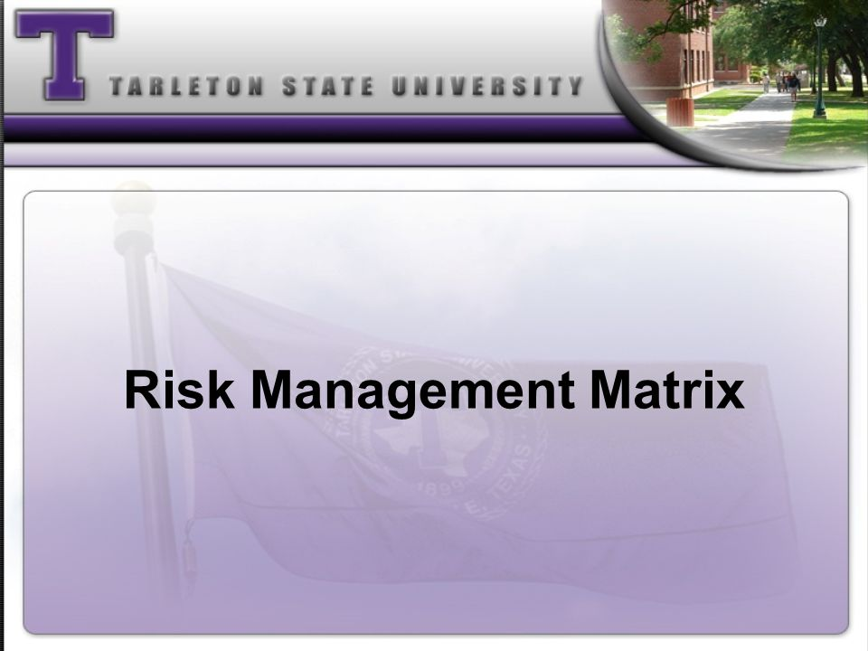 Brainstorm Methods to Manage Risk at Camp Find strategies you can apply to reduce the severity of the risk and probability that something will go wrong Procure Summer Camp insurance for participants providing coverage that included accident, medical and general liability.