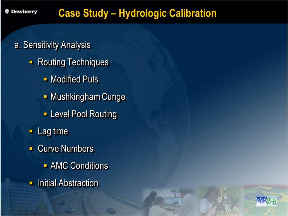 Case Study- Hydrologic Calibration Additional Storage Areas