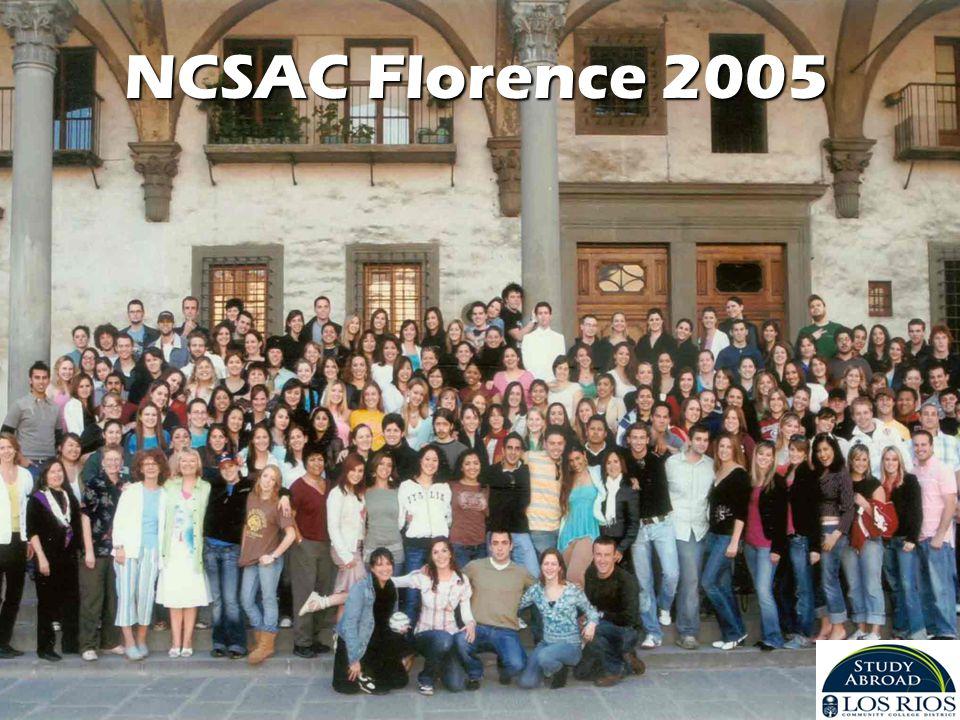 NCSAC Florence 2005