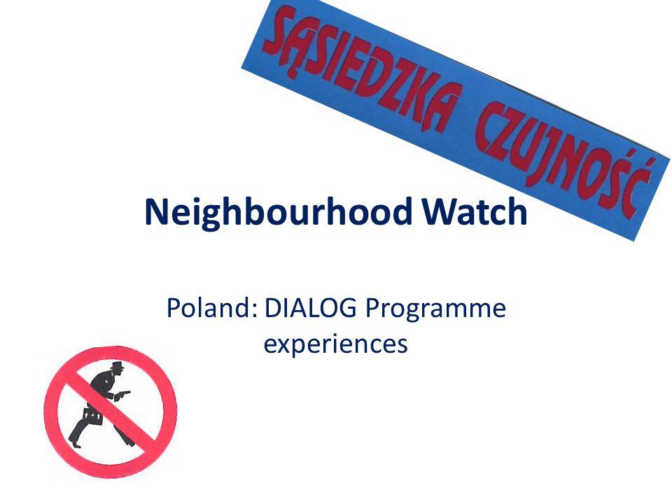 Neighbourhood Watch Poland: DIALOG Programme experiences